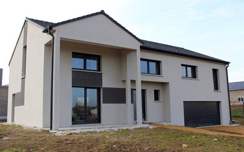 Maison sur sous-sol DN100 - Maisons Géode