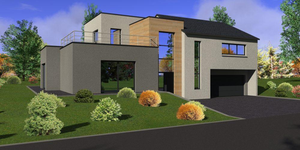 Maison sur sous-sol DN60 - Maisons Géode