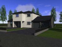 Maison à étages E170 - Maisons Géode