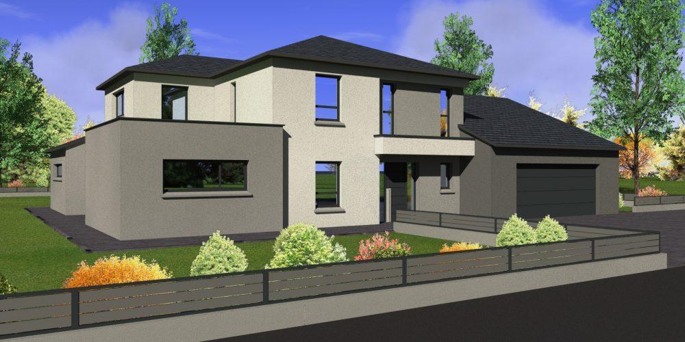Maison à étages E40 - Maisons Géode