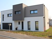 Maisons toiture terrasse TT10 - Maison Géode