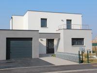 Maison toiture terrasse TT20 - Maisons Géode