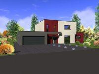 Maison toiture terrasse TT40 - Maisons Géode