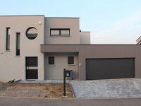Maison toiture terrasse TT50 - Maisons Géode