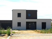 Maison toiture terrasse TT90 - Maisons Géode